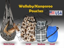 Wallaby/Kangaroo Pouches